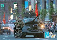 Проведена последняя репетиция военного парада в Украине