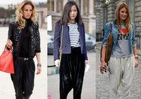 Модный фасон брюк, популярный среди модниц в этом сезоне2