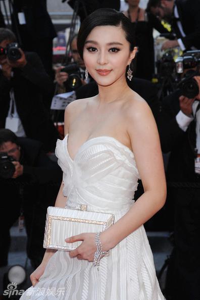Фань Бинбин - восточная принцесса на Каннском кинофестивале
