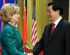 Председатель КНР Ху Цзиньтао выступил на церемонии открытия второго раунда китайско- американского стратегического и экономического диалога1