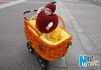 В столице Украины проведен первый праздник прогулочных колясок для детей