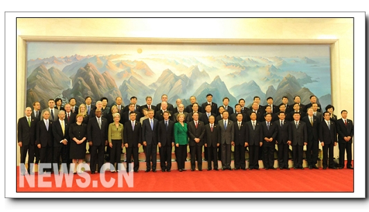 Завершение второго раунда китайско-американского стратегического и экономического диалога