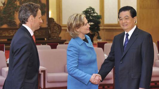 Ху Цзиньтао надеется на повышение роли китайско-американского стратегического и экономического диалога в содействии развитию отношений двух стран