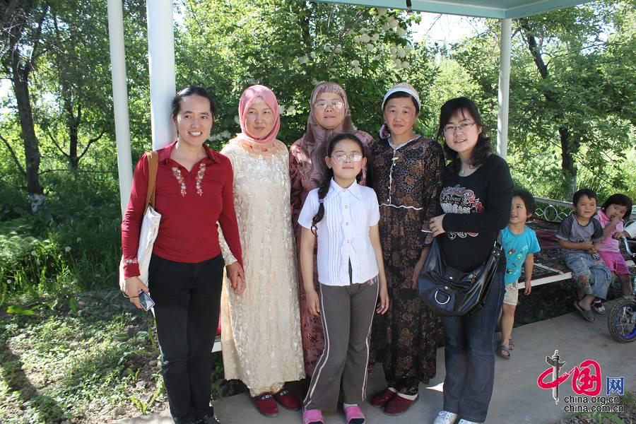 Мы с дунганскими друзьями