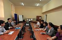Посещение Торговой палаты Узбекистана