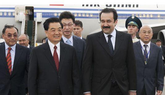 Ху Цзиньтао прибыл в Астану с государственным визитом в Казахстан