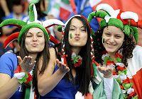 Сексуальные женщины-болельщицы на Чемпионате мира по футболу-2010