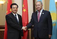 Председатель КНР Ху Цзиньтао встретился со спикером мажилиса парламента Казахстана У. Мухамеджановым