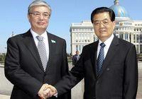 Встреча председателя КНР Ху Цзиньтао со спикером сената РК Касым-Жомартом Токаевым