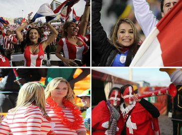 Красивые болельщицы на ЧМ по футболу в ЮАР