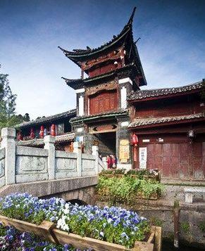 Древние поселки провинции Юньнань