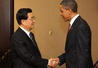 Ху Цзиньтао встретился с Б. Обамой