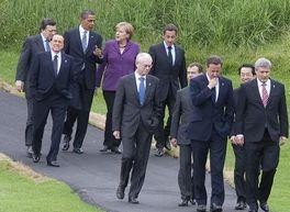 Лидеры G8 обсуждают проблемы мировой безопасности