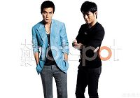 Сянганские звезды У Яньцуй и Гу Тяньлэ