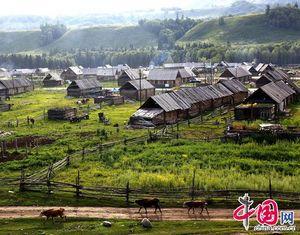 Хэму - многонациональное туристическое село на севере СУАР
