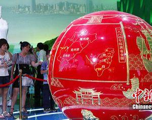 Павильон провинции Фуцзянь на ЭКСПО-2010 привлекает китайских и иностранных посетителей