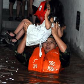 Наводнение в этом году такое же серьезное, как и в 1998 году? 2