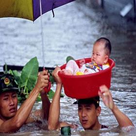 Наводнение в этом году такое же серьезное, как и в 1998 году? 3