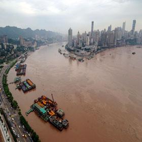 Наводнение в этом году такое же серьезное, как и в 1998 году? 4