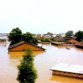 Наводнение в этом году такое же серьезное, как и в 1998 году? 5
