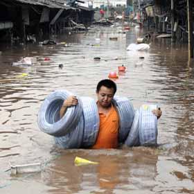 Наводнение в этом году такое же серьезное, как и в 1998 году? 12