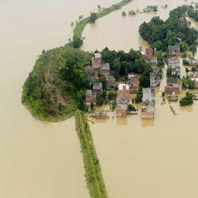 Наводнение в этом году такое же серьезное, как и в 1998 году? 16