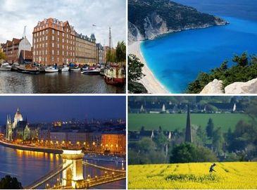 Десятка живописных европейских городов