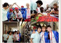 Российские и китайские школьники весело провели обмены в школе №.15 города Далянь