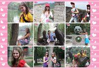 Красивые российские школьницы-участницы летнего лагеря в Китае в глазах китайского корреспондента