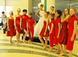 Российские школьники в Даляне