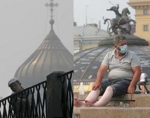 В Москве вновь ощущался дым, но тенденция сокращения площадей природных пожаров в России сохраняется