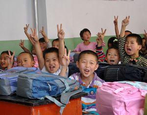 День до начала нового учебного года в Чжоуцюе провинции Ганьсу