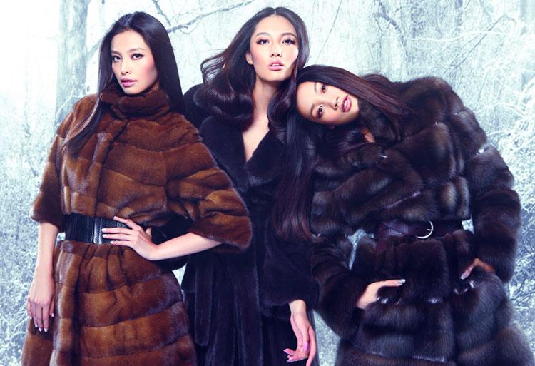 Тенденции меховой моды на осень-зиму 2010 года роскошного бренда «NE TIGER»