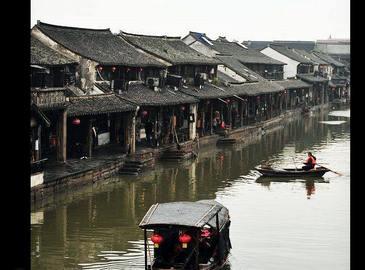 Пейзажная древняя волость на юге реки Янцзы - Ситан