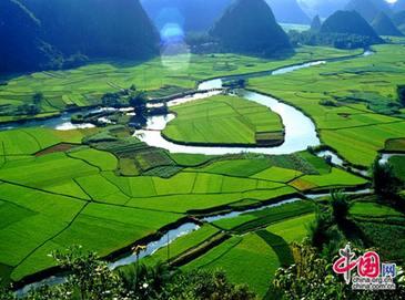 Очаровательные пейзажи Гуанси-Чжуанского автономного района