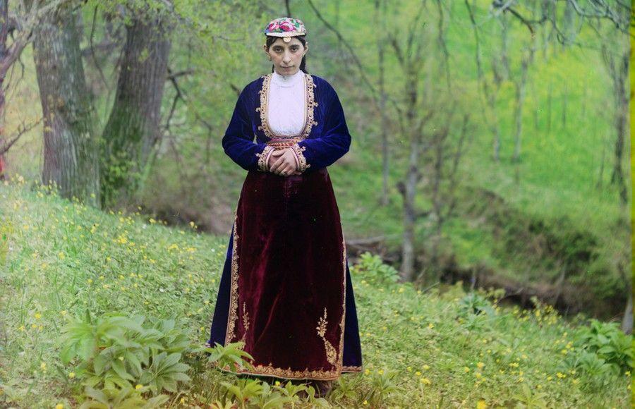 Цветная Россия сто лет назад