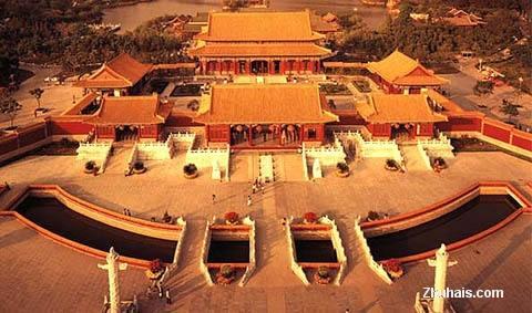 Достопримечательность города Чжухай: парк «Юаньминсиньюань»