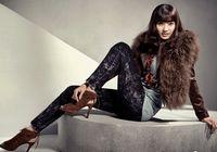Южнокорейская звезда Хан Чхэ Ён в каталоге одежды осенне-зимнего сезона