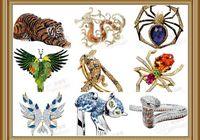 Роскошные ювелирные украшения с элементами животного мира