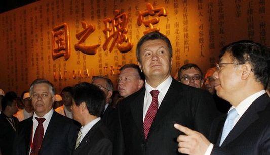 Президент Украины: опыт Китая в успешном проведении пекинских Олимпийских игр и ЭКСПО-2010 будет полезно для Украины