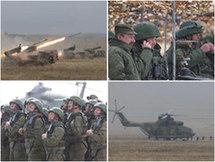 Четвертый этап учений 'Мирная миссия-2010'