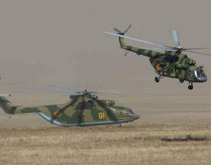 На полигоне Матыбулак прошла репетиция отработки практических действий войск в рамках учений 'Мирная миссия-2010'