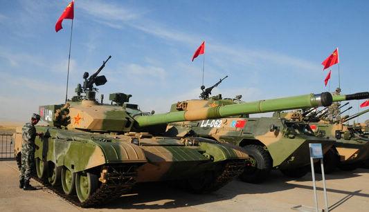 Техническое оборудование вооруженных сил Китая, Казахстана и России в учениях ?Мирная миссия-2010?