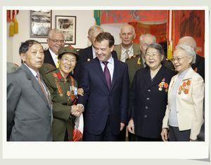Д. Медведев посетил китайский город Далянь