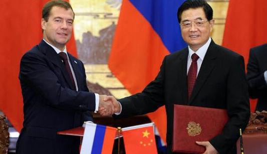 Китай и Россия подписали совместное заявление о всестороннем углублении отношений партнерства и стратегического взаимодействия