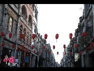Старая улица Чжухайлу города Бэйхай Гуанси-Чжуанского автономного района имеет столетнюю историю. Она была построена в 1883 году. Все здания на улице представляют смесь китайского стиля с европейским.