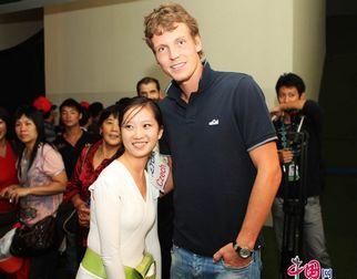 Известный чешский теннисист Томаш Бердых посетил Парк павильонов ЭКСПО-2010 в Шанхае