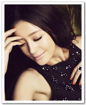 Модные снимки звезды Цинь Лань