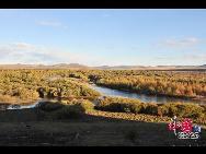 Очаровательная осень в степи Хулун-Буир