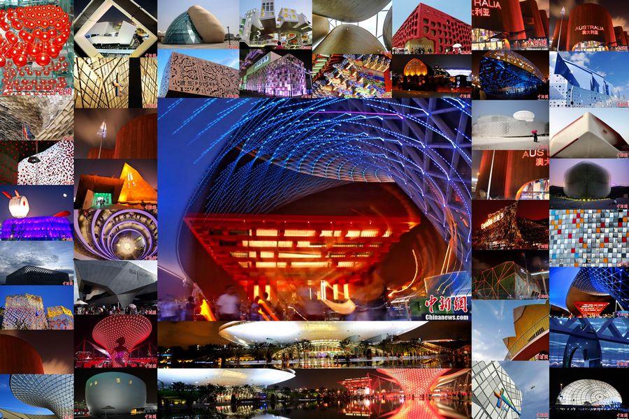 Спецтема: Красота архитектуры павильонов на ЭКСПО-2010 в Шанхае